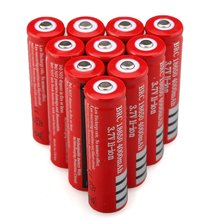 AIMIHUO 18650 Battery Rechargeable 4000 mAh 3.7V For LED Flashlight Torch