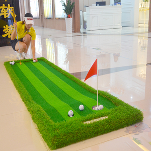 Image 4 - Golf Putting Green Indoor&Outdoor Residential Putting Mat Backyard Portable Golf Practice Putting Trainer Mat for Golfer