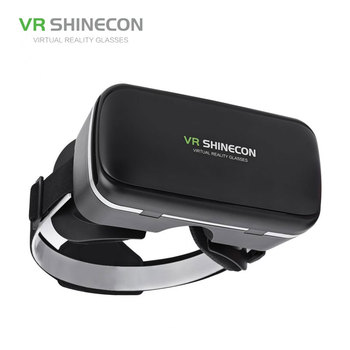 VR SHINECON G04 Virtual Reality Headset 3D VR Glasses for 4.7-6.0 inches Android iOS Smart Phones 3
