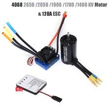 Rc Brushless Waterproof Sensorless Motor 4068 2050KV 2650KV 1900KV 1700KV 1400KV