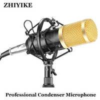 BM800 karaoké microphone studio condensateur mikrofon KTV BM 800 micro pour Radio Braodcasting chant enregistrement ordinateur bm-800