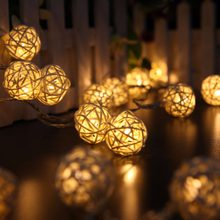 Warm White Battery Flameless Candle Light,2.5 or 5 meter long Led Candle Light For wedding and party,christmas tree decoration(China)