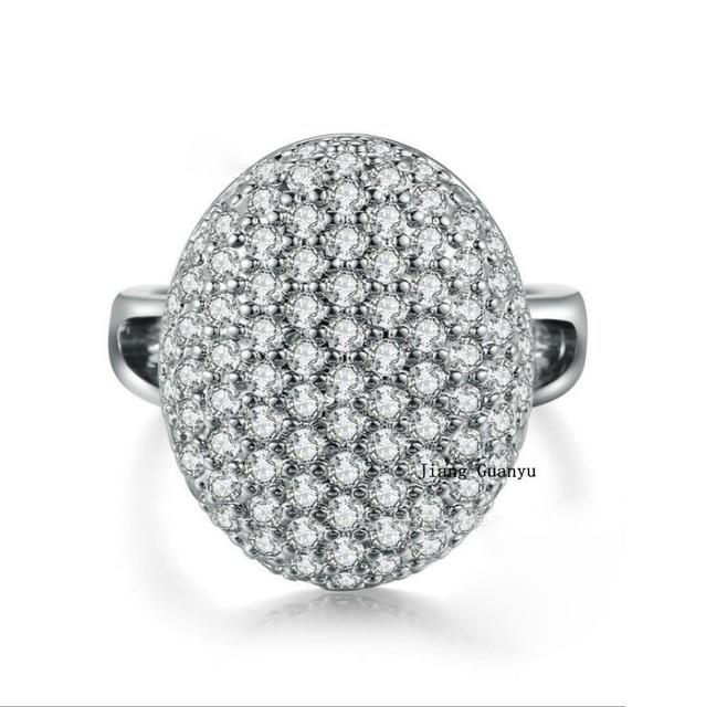 sz6 9 twilight bellas wedding ring s925 silver zircon white gold filled womens engagement ring - Twilight Wedding Ring