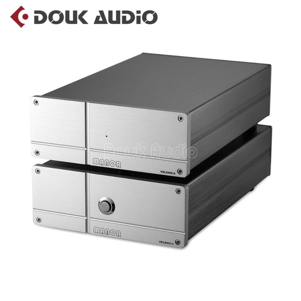 Douk audio Hi-end HiFi MM/MC RIAA Phono Turntable Preamp Class A Direct Coupling Output Pre-Amplifier douk audio latest mini 6j1 vacuum tube phono turntable preamp mm mc riaa hi fi class a preamplifier free shipping