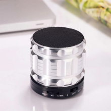 Wireless Bluetooth speaker metal material heavy bass MINI TF card mobile phone HD call FM radio USB Charge interface