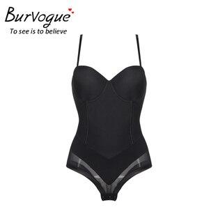 Image 1 - Burvogue Shapewear Body Sexy Lencería modelador de cuerpo sin costuras, adelgazante vientre cintura Control Shaper ropa interior para mujeres