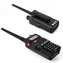 Ham Two Way Radio VHF UHF 136-174 and 400-520Mhz Interphone Walkie Talkie Portable BaoFeng BF-F8+ with FREE microphone&earpiece