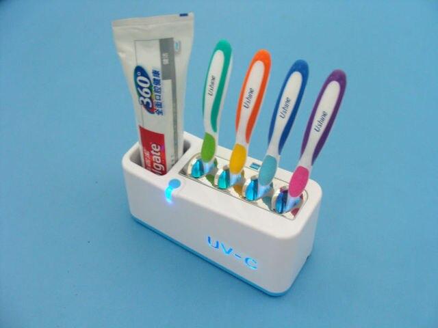 Housewarming Gift UV-C lamp ultra violet light kill bacteria germ TB-3 UV toothbrush sanitizer