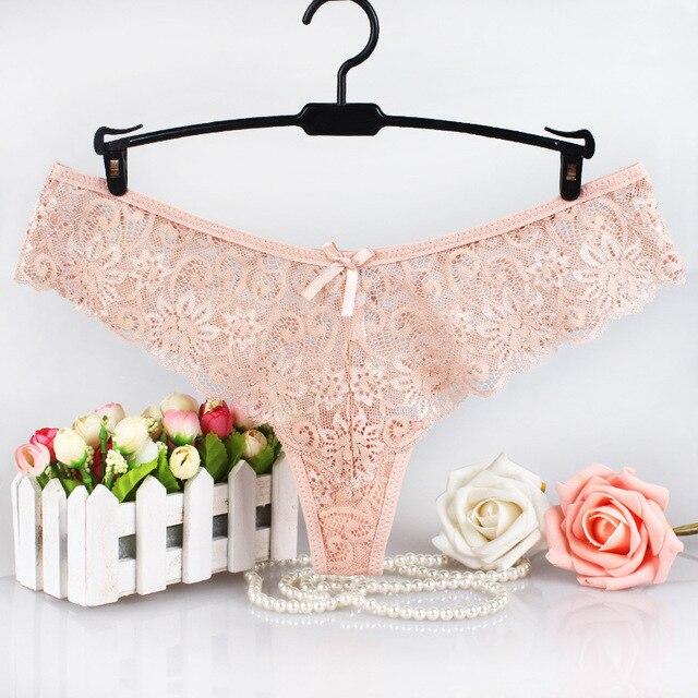 3PCS Ladies  Panties G-String Thong Panties String Underwear Women Briefs Sexy Lingerie Pants Intimate Ladies Low-Rise 5