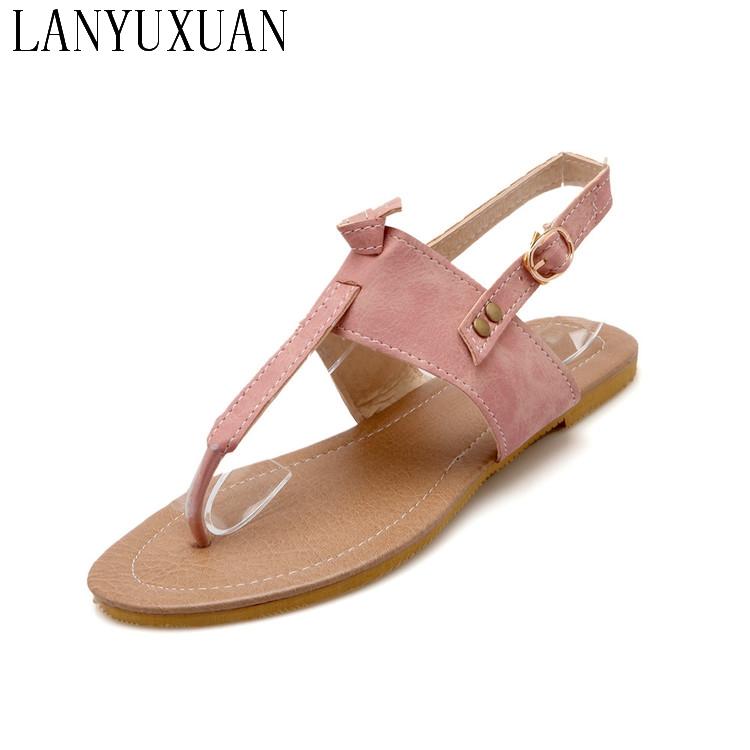 Ladies Shoes Gladiator Sandals Women Plus Size 34-43 Shoes Women Sandals 2017 Sapato Feminino Summer Style Chaussure Femme 193 2016 new summer pep toe woman sandals platform thick heel summer women shoes hook