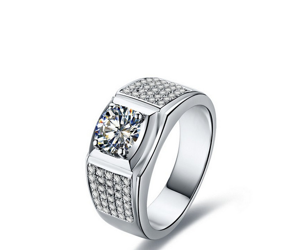 Collectables Brilliant 1ctnscd Synthetic Diamond Engagement Rings