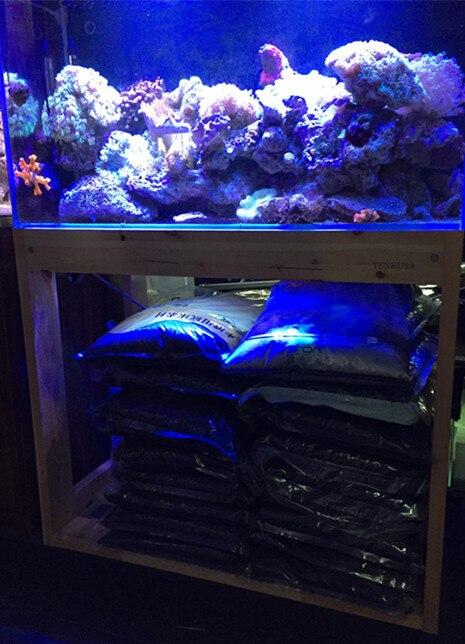 Japan Tenkusa Pine Wood Frame Aquarium Fish Tank Sink Base Cabinet