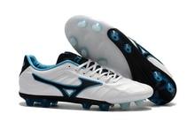 Mizuno Rebula V1 FG original Mizuno Wave Ignitus Soccer Spikes Men Soccer Shoes Sports Weightlifting Shoes Sneakers Size 39-45