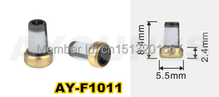 free shipping 500pieces High quality fuel injector filter repair kit for audi  (8.4*5.5*2.4mm,AY-F1011)