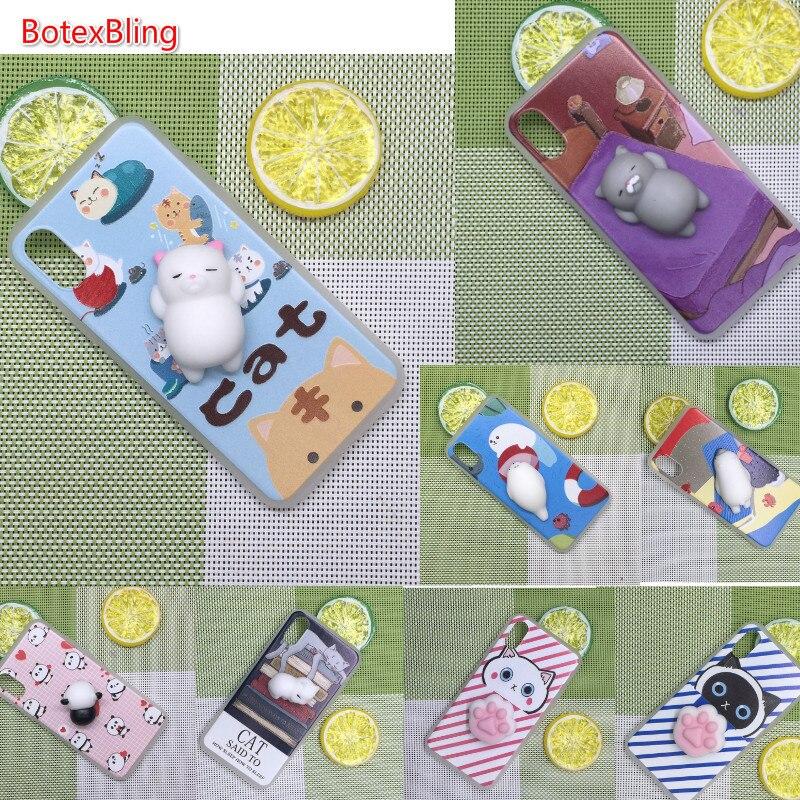 Botexbling 3D Симпатичные мягкие силиконовые мягкими Cat телефон чехол для <font><b>iPhone</b></font> 7 Чехол 6 6S плюс 8 8 плюс 6 plus X <font><b>5S</b></font> SE кролик Кошачий коготь Капа