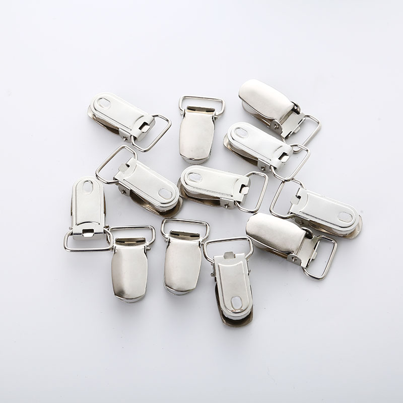New Jewelry Parts Metal Baby Pacifier Clip 10 Piece/Lot Children's Strap Metal Clip Nipple Clip Soothing Feeding Supplies