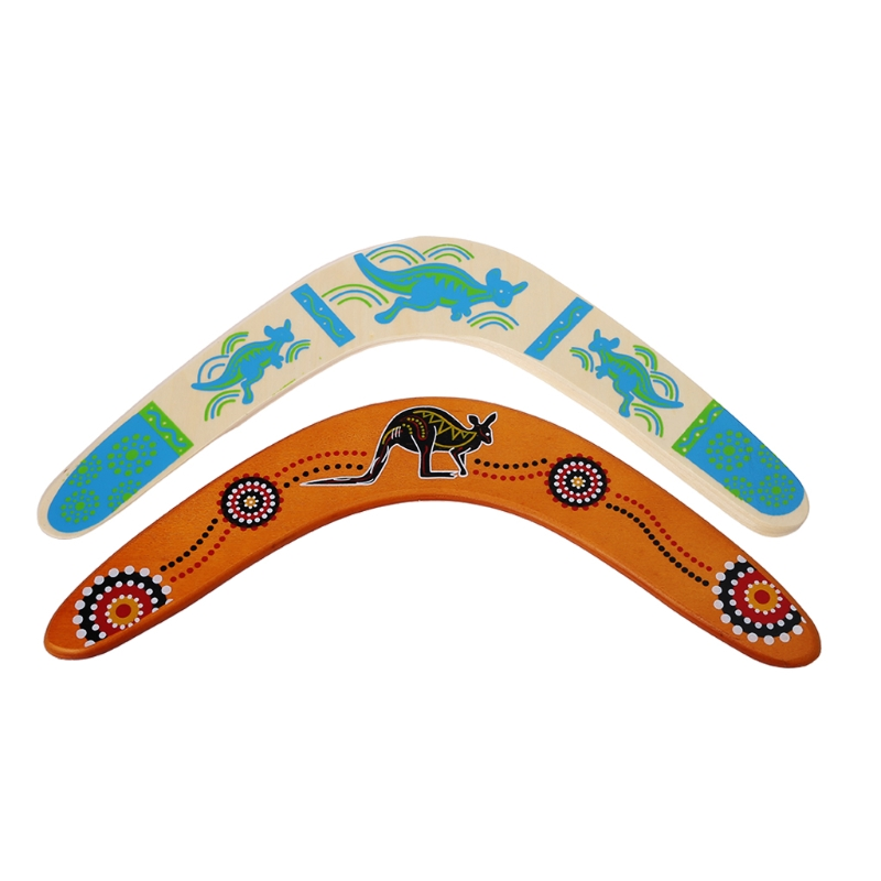 New Kangaroo Throwback V Shaped Boomerang Flying Disc Throw Catch Outdoor Game Hot Selling
