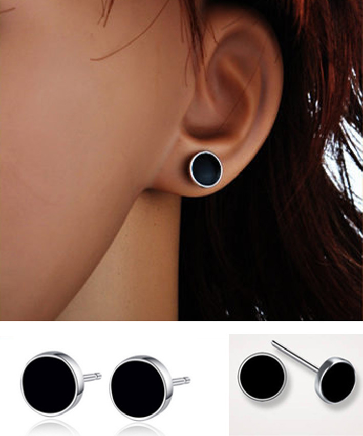 trendy limited zinc time jewelry round popular women most in stud alloy glass fashion brincos item style from earrings