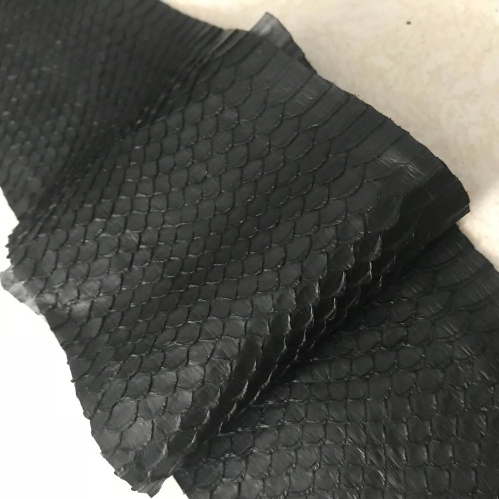 WS006 Black Color natural snake skinsWS006 Black Color natural snake skins