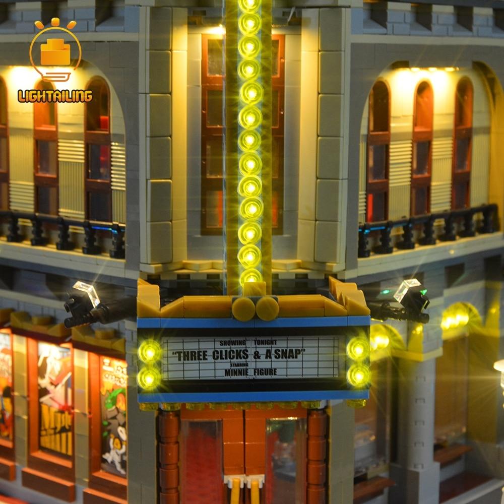 LIGHTAILING Led Licht Up Kit Für Creator Palast Kino Licht Set Kompatibel Mit 10232 (NICHT Enthalten Die Modell)-in Sperren aus Spielzeug und Hobbys bei  Gruppe 3