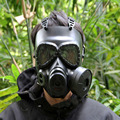 Tactical Skull Masks Resin Full Face Fog Fan Gas Masks For CS Wargame Airsoft Paintball Face Protective Sport Security Supplies
