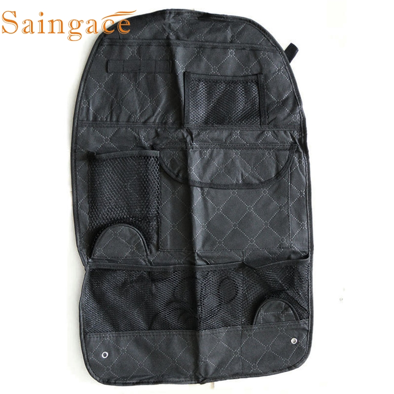 Home Wider New High Quality Hot Car Auto Care Seat Protector Cover Storage Bag Pouch For Children Kick Mat Mud Drop Shipping