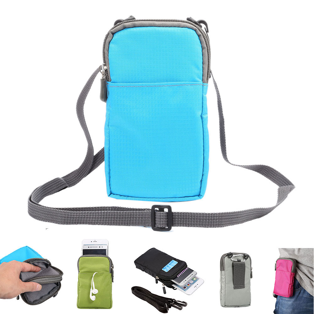 Universal Cell Phone Bag For IPhone 7 6s Plus Mountaineering Sport Pouch Cover Case For Samsung Galaxy S8 For LG HTC Huawei Sony
