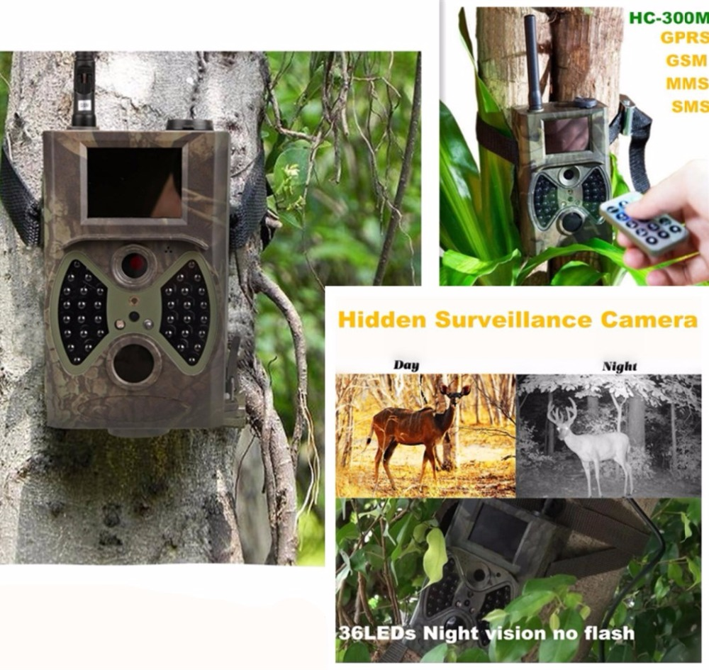 Trail Cameras 940nm NO glow MMS trail cam GPRS Game Cameras Black IR wildlife camera photo trap 32GB 2017 new winter fashion women down jacket hooded thick super warm medium long female coat long sleeve slim big yards parkas nz18