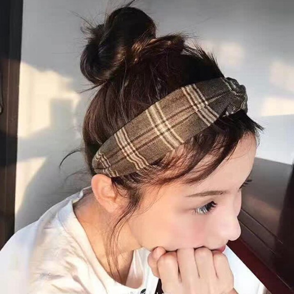 hair band styles for hair 2017 korean paternity style flower cross knot 1825