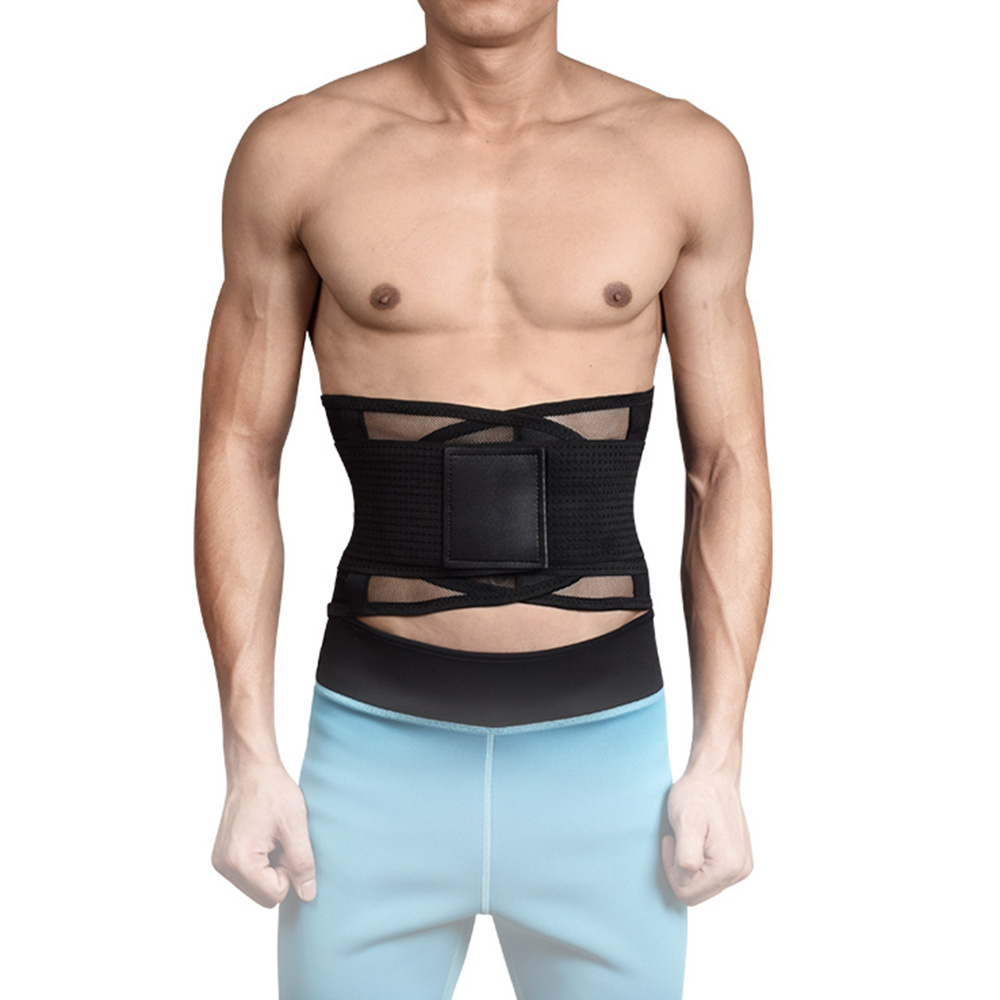 11 colors S to XXL Breathable Xtreme Slimming Belt Waist trainer corset Mens body shaper Belly belt weight loss