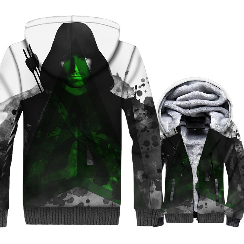 casual warm wool liner brand clothes 2019 Long sleeve turn-down collar jackets men winter fashion 3D printed coats sweatshirts