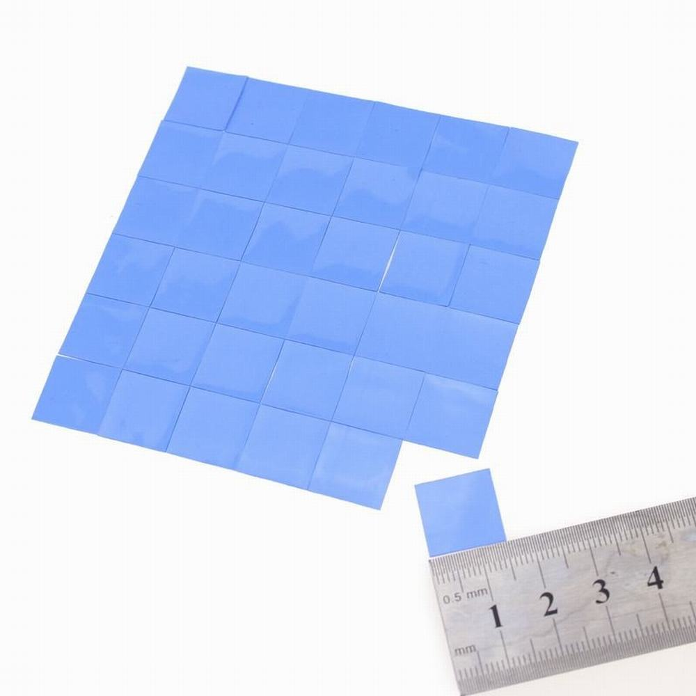 15mm*15mm*2.5mm Thermal Pad GPU CPU Heatsink Cooling Conductive Silicon