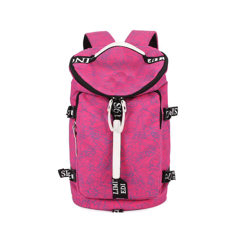 ФОТО 8 Color Available Travel Tote bag For Ladies High Quality Canvas Fribics Female Backpack 2016 New Fashion Style Women Travel Bag