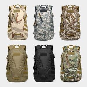 Image 4 - Outdoor Tasche Wasserdicht Militärischen Rucksack Frauen männer Wandern Taktische Rucksack 900D Nylon Klettern Tasche Sport Tasche