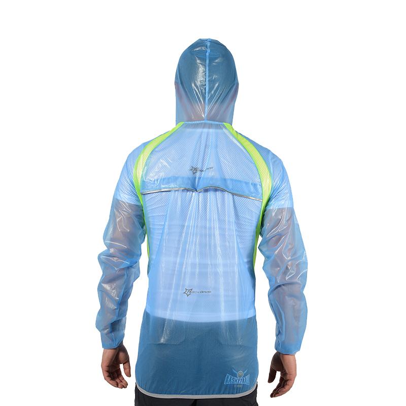 ROCKBROS Waterproof Cycling Jersey breathable Jacket Jersey Windproof Coat Clothing MTB Reflective Bike Road Raincoat RK0019 (7)