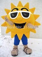 Óculos de Sol Óculos de sol Legal Alegre Sol Personalizado Traje Da Mascote Dos Desenhos Animados Caráter Mascotte Kit Suit Fancy Dress
