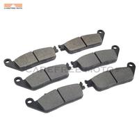 6 Pcs Motorcycle Front Rear Disc Brake Pads Case For HONDA ST 1100 PAN EUROPEAN ABS