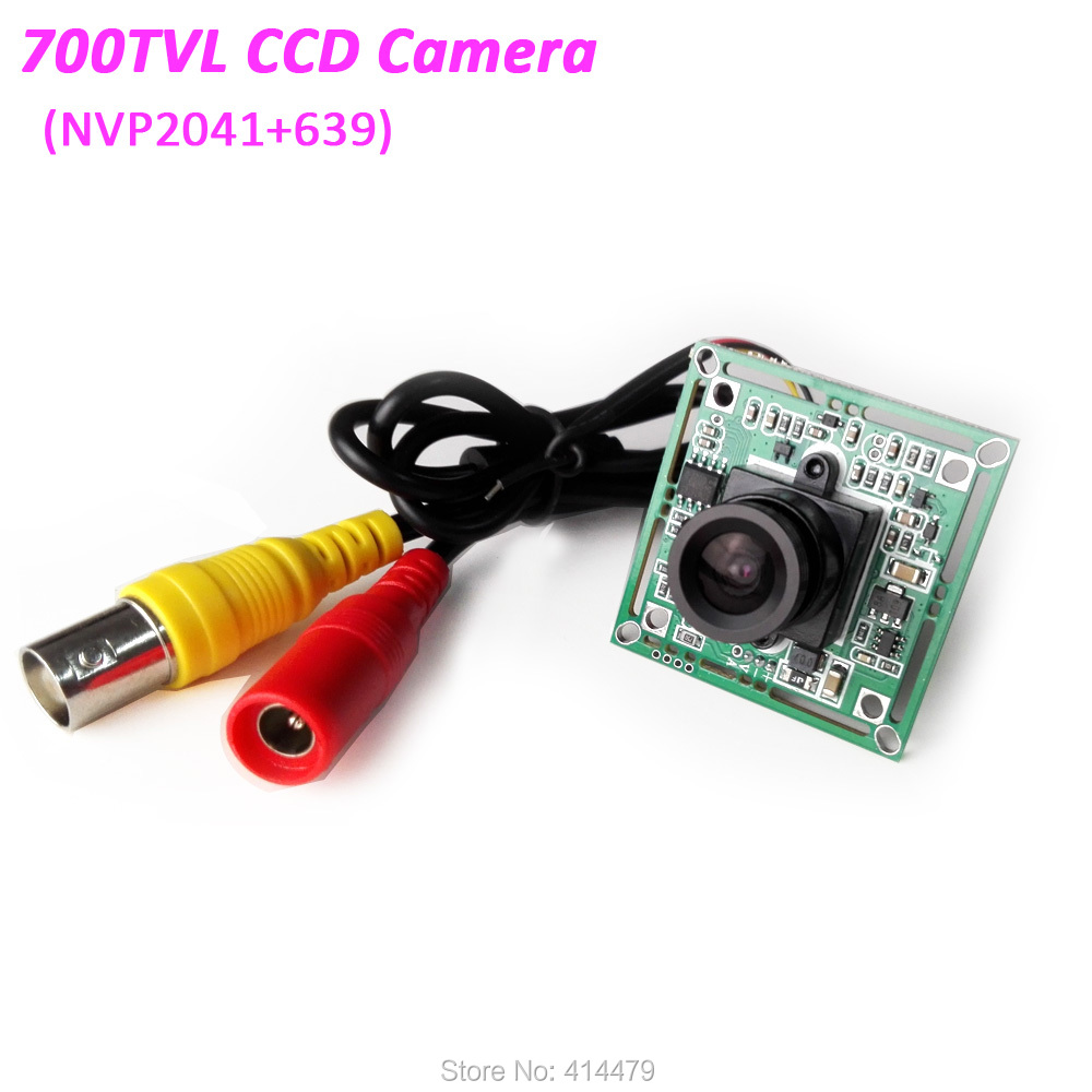 700TVL Security Camera Board Module 3.6mm Lens NVP2041 CCD PCB