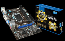 Three-year warranty/Free shipping new original motherboard for MSI H81M-P33 LGA 1150 DDR3 Solid Capacitor