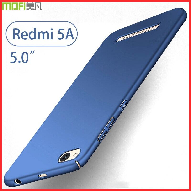 Xiaomi redmi 5a fall harte rückseitige luxus volle abdeckung mofi ultradünne coque dünne capa funda coque 2 GB 5,0 425 Xiaomi redmi 5A fall