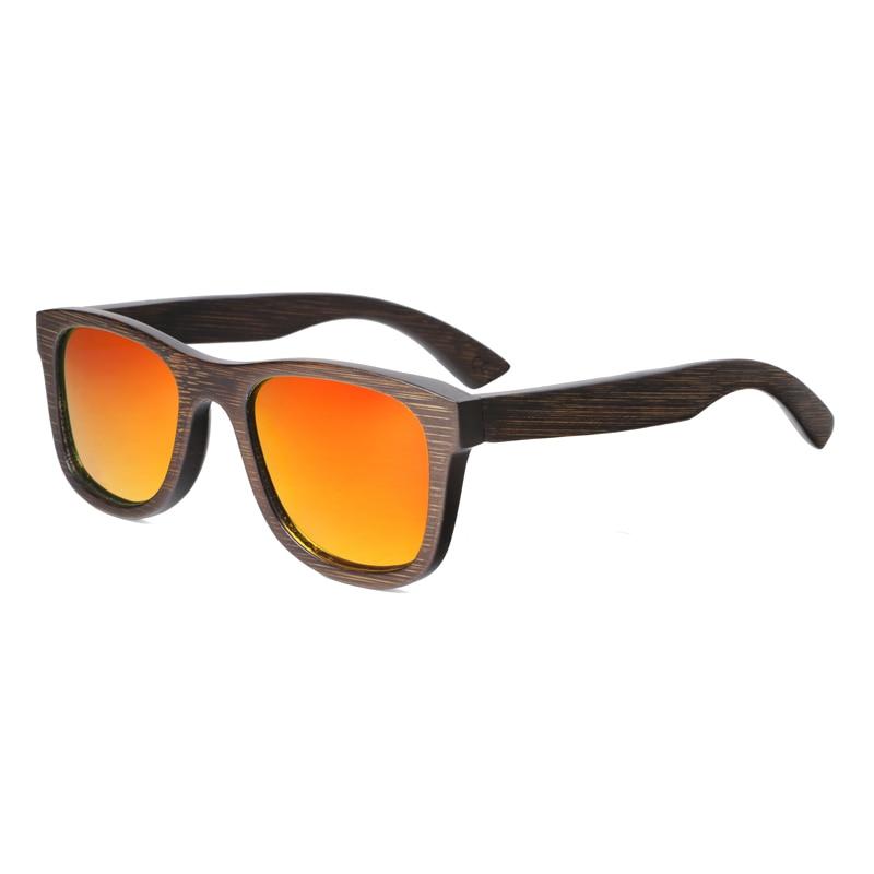 BerWer Բամբուկե արևային ակնոցներ տղամարդկանց բարձրորակ UV400 պաշտպանության նորաձևություն Բամբուկե արևի ակնոցներ Կանացի դիզայներ ակնոցներ