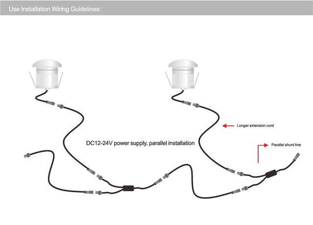 3W LED Underground Garden Lights Stair Lamp IP67 Outdoor Landscape Paver Pay Io Lighting Ideas on