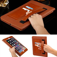 Hand Lifts Genuine Leather Case For Apple Ipad 2 3 4 For Ipad 2 Case For
