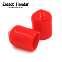 10PCS SMA Rf Ham Radio antenna Plastic Plastic Covers Dust Cap connector(China)