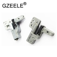 "GZEELE New LCD Hinge Set Left Right for Dell Latitude D820 D830 D531 Precision M4300 15.4"" GM977 YD874 JF006(China)"