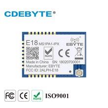 E18-MS1PA1-IPX Zigbee CC2530 2,4 ГГц 100 мВт антенна IPX IoT uhf беспроводной приемопередатчик 2,4g передатчик приемник модуль CC2530 PA
