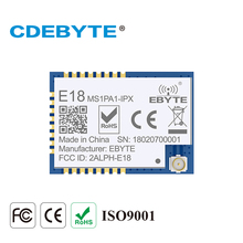 E18 MS1PA1 IPX زيجبي CC2530 2.4Ghz 100mW IPX هوائي IoT uhf جهاز الإرسال والاستقبال اللاسلكي 2.4g جهاز ريسيفر استقبال وإرسال وحدة CC2530 PA