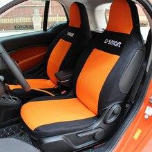 На заказ сиденье протектор Тонкий Сетчатый коврик для Mercedes-Benz Smart Fortwo ForFour 451 453 сиденье для салона автомобиля крышка дышащий и грязь