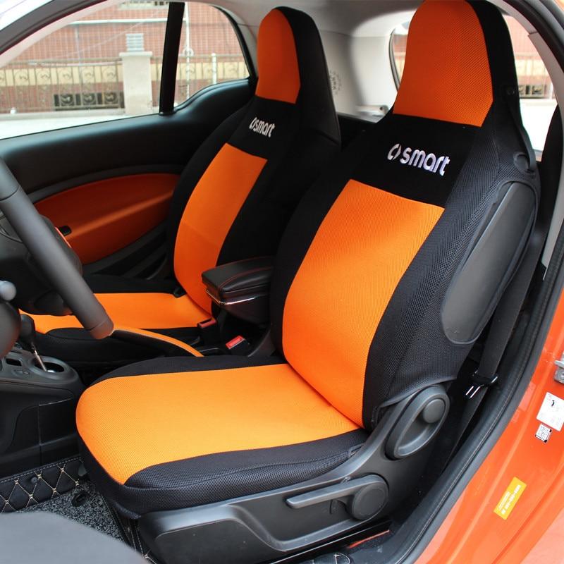 Personnalisé protection de siège mince maille tapis pour Mercedes-Benz smart fortwo forfour 451 453 voiture intérieur housse de siège respirant et la saleté
