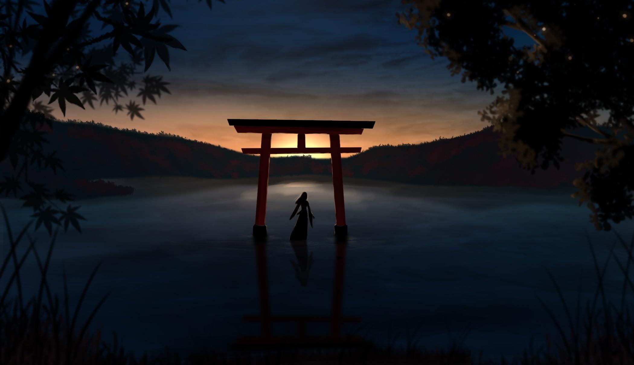 【P站画师】日本画师adsuger的风景插画作品- ACG17.COM